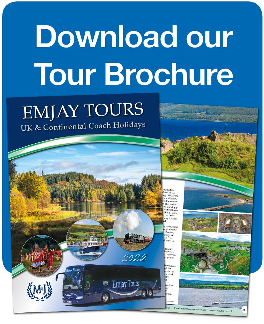 Click here to download our holiday brochure, filled with UK and European holidays